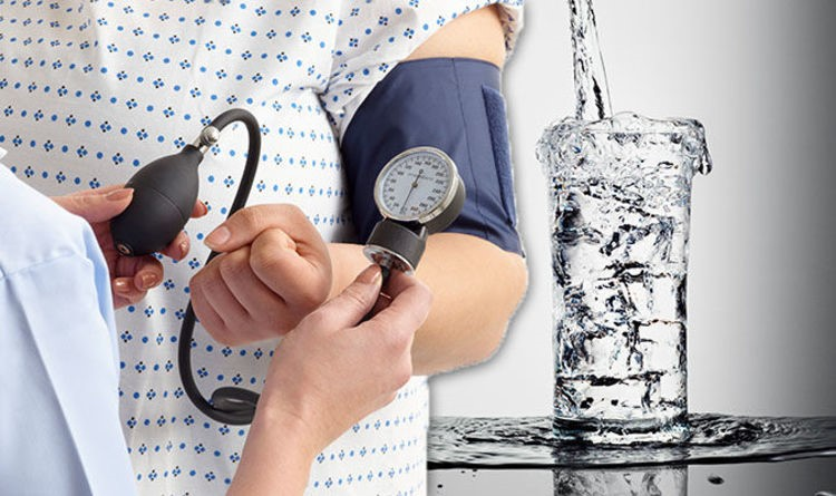 water and blood pressure
